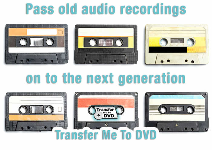 Audio Cassette Tape converted to a Digital format