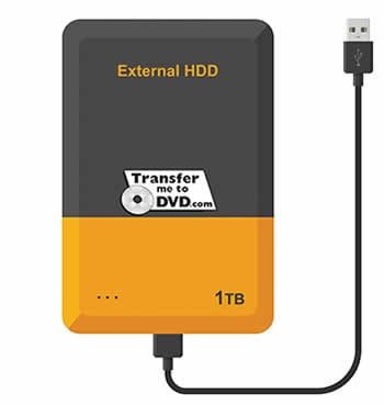 External Hard Drive to store the family memories in digital files