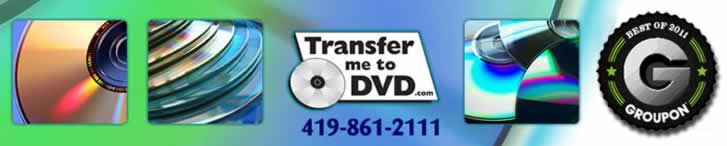 Convert slides to digital files on DVD in Toledo