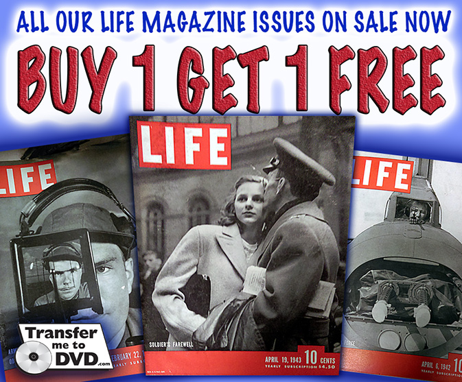 Life Magazine Issues On Sale