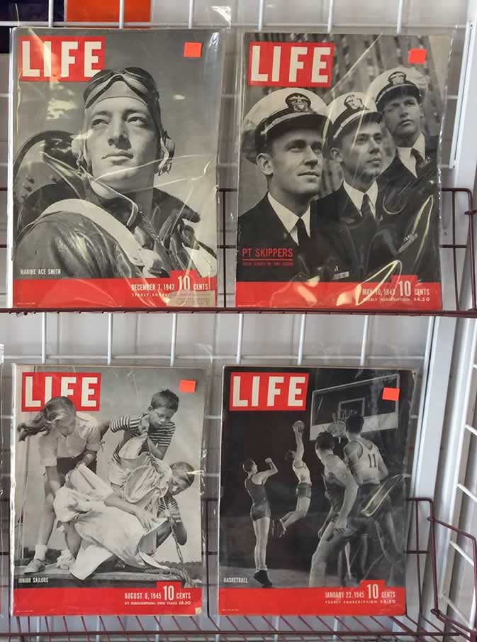 Life Magazines from 30's and 40's