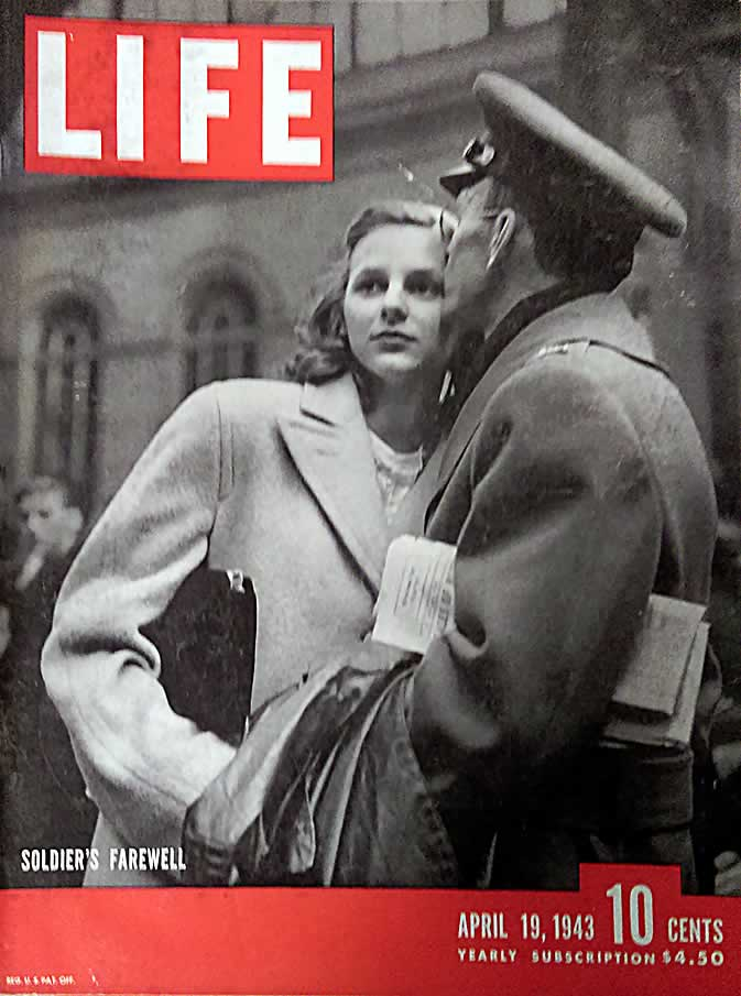 1 issue of Life Magazine Apr 19, 1943