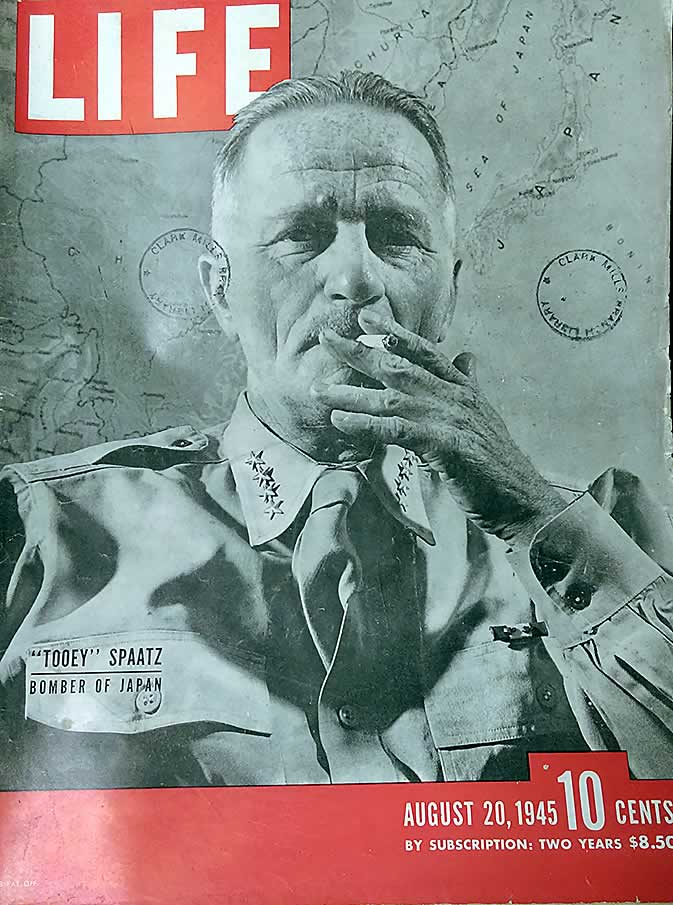 1 issue of Life Magazine Aug 20, 1945