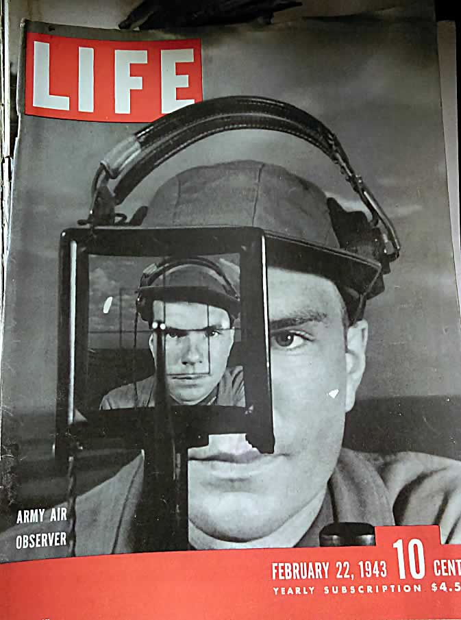 1 issue of Life Magazine Feb 22, 1943