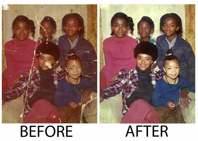 Photo Restoration Toledo OH